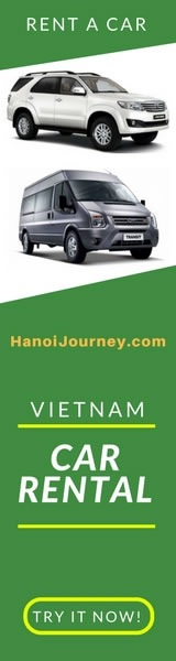 hanoi journey, vietnam car rental