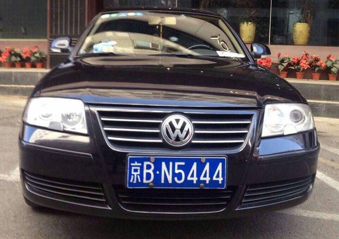 mr li tz's sedan cab, vw passat 1.8t