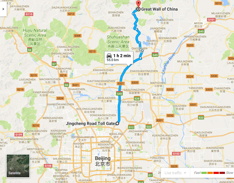 taxi to great wall of china, mutianyu, car rental with english driver, cab, day tour