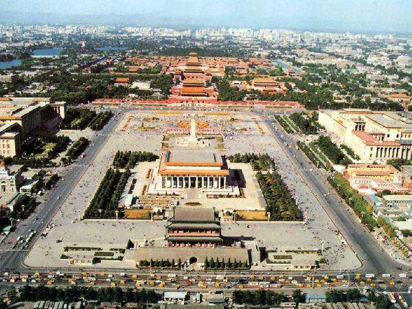 tiananmen square, gate of heaven