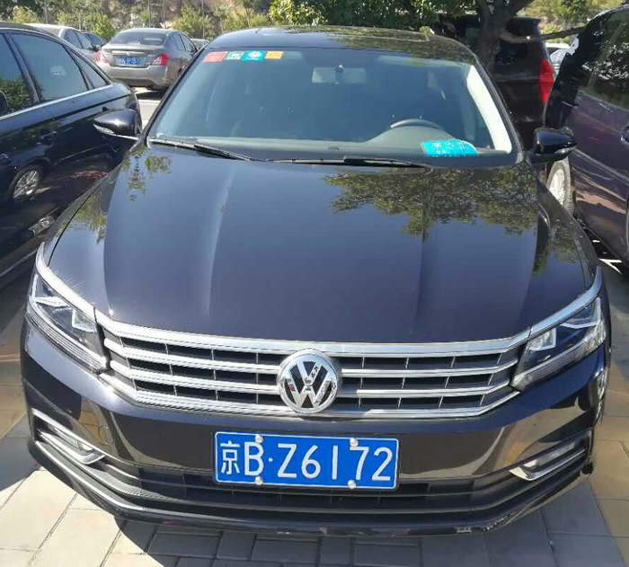 Mr wang hh's sedan cab, vw passat 1.8t